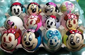 Mickey Mouse Easter Eggs Minnie Mouse Easter Eggs By Rene L On Deviantart
