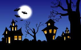 the night of halloween hd wallpaper