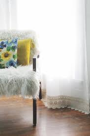 Sewing Ideas For Home Decorating Lengthen Curtains Without Sewing Click Through For Tutorial