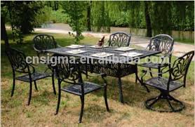 Cast Aluminium Outdoor Furniture by Wholesale Custom Garden Table Online Buy Best Custom Garden