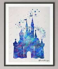 Aliexpresscom  Buy DIY Original Watercolor Princess Cinderella - Canvas paintings for kids rooms