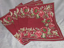 april cornell floral nature placemats ebay