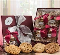 cookie gift baskets dulcet 3 tier gift basket tower includes walnut brownies chocolate