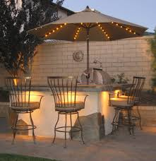 decor backyard with outdoor patio and rectangular patio umbrella