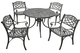 Griffith Metal Outdoor Furniture by Black 7 Piece Outdoor Dining Set Patio Furniture Deck Pool Garden