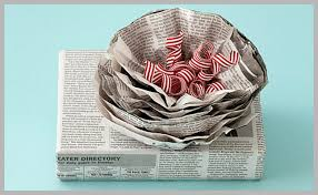newspaper wrapping paper paper clutter or creative gift wrap andrea dekker