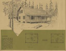 vintage log cabin plans 7 antique alter ego