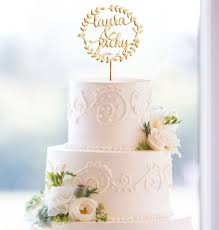 custom wedding cake toppers glittery boho custom wedding cake topper monogram ewft043 as low as