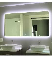 very attractive backlit led bathroom mirror bedroom ideas