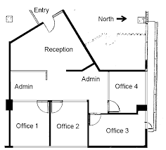 Small Business Office Floor Plans | 4 small offices floor plans within the office suite the layout
