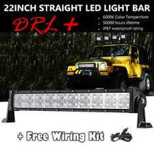 24 inch led light bar offroad cree 22 24 inch 280w led light bar offroad drl for 14 16 polaris