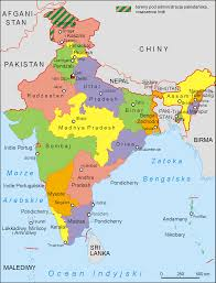 Map Of States With Capitals by A Fast That Changed The Map Of India Guruprasad U0027s Portal