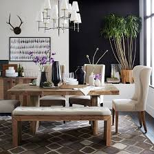 West Elm Carroll Bench Emmerson Dining Table 72