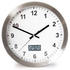 promotional metal wall digital termometer