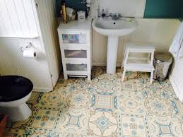 if you like morrocan style tiles this vinyl is a budget way to