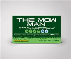 Budget Business Cards 30 Elegant Playful Business Card Designs For The Mow Man In