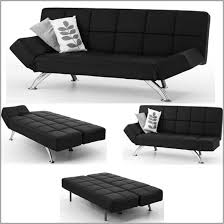 Faux Leather Sofa Sleeper Faux Leather Sofa Bed Modern Looks Venice Black Faux Leather