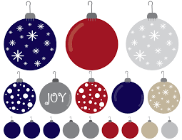 christmas ornaments christmas ornaments clipart