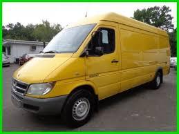 used dodge sprinter cargo vans for sale buy used 2005 dodge sprinter 2500 cargo ex dhl truck runs