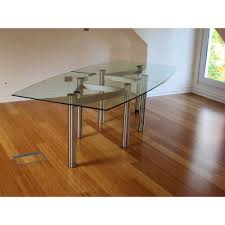 modular glass dining table in an assortment of sizes
