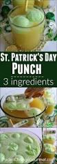 st patrick u0027s day punch pocket change gourmet
