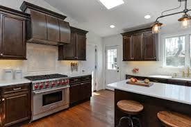 espresso kitchen cabinets with white countertops regency espresso pre assembled kitchen cabinets willow