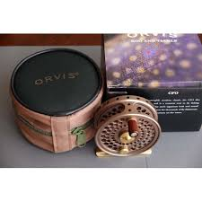orvis cfo orvis cfo size i fly reel bronze original box never used