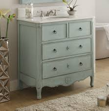 34 Bathroom Vanity 34 Inch Bathroom Vanity Cottage Style Vintage Light Blue