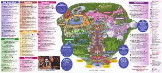 Orlando Parks Map by Magic Kingdom Guidemaps