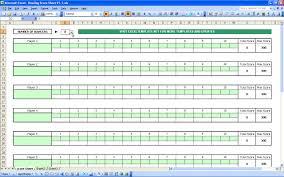 Ten Pin Bowling Sheet Template Bowling Sheet Excel Templates