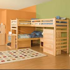 Bunk Bed Used Astonishing Ideas For Pallet Loft Bunk Beds Wood Pallet Ideas