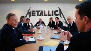 metallica board of directors debates whether new riff will have