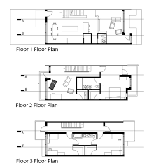 Row House Floor Plans Rowhouse U2014 Liran Bromberg