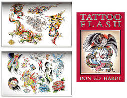 tattoo flash by don ed hardy traditional and modern designs for