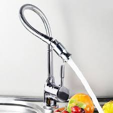 Kitchen Sink Faucet Vanra And Cold Stainless Steel Kitchen Sink Faucet Pull Down