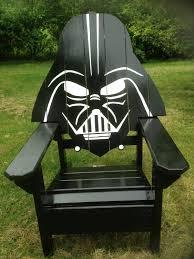 Darth Vader Christmas Tree Topper by Darth Vader Adirondack Chair Painted Version Star Wars Themed