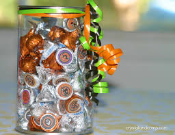 Halloween Candy Jar Ideas by Fall Craft Ideas Halloween Hershey U0027s Kisses Stickers Free