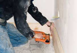 Install Laminate Flooring Without Removing Baseboards How To Install Shoe Molding Or Quarter Round