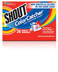 What Temperature Do I Wash Colors - shout color catcher protect from color bleeding shout