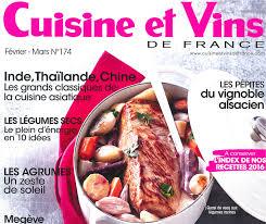 cuisine et vins de recette vu dans la revue cuisine et vins de le de l oeuf