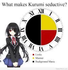What Makes Me Me - otaku meme anime and cosplay memes what makes kurumi seductive