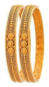 bangles bracelet images Buy traditional antique gold plated flower designer 2 2 size jpg