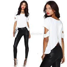 shirts and blouses european tops chiffon shirt sleeve casual shirts