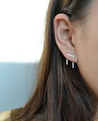 seconds earrings jewels piercing silver earrings orbital piercing
