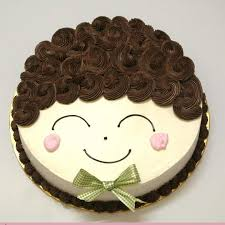 smiley doll face cake online cake delivery in hyderabad