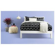 Blue Striped Comforter Set Black Chevron Stripe Comforter Set Room Essentials Target