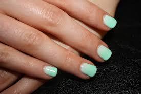 mint green ombré nails paint me pretty