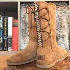 ugg s emalie boot 57 ugg shoes nwt lo pro lace up tasman uggs from shelbrit s
