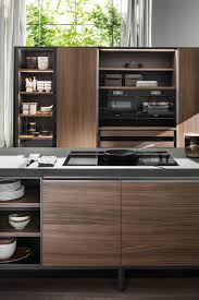 Contemporary Kitchen Contemporary Kitchen Wooden Steel Island Vvd By Vincent