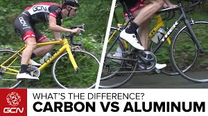 carbon vs aluminium bikes what u0027s the difference on the road